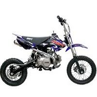 124cc SR125SEMI Dirt Bike
