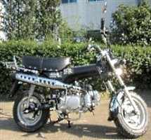 123cc Four Stroke Air Cooled Retro Motor Bike