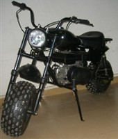 200cc Black Storm Mini Bike