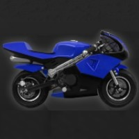 47cc 2 Stroke Gas Pocket Bike
