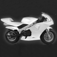 43cc 2 Stroke Gas Pocket Bike