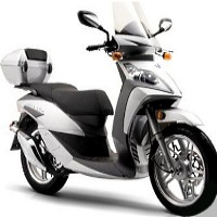 Elite 150cc Pacifica Moped Scooter
