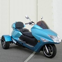 300cc Compeller Trike Scooter