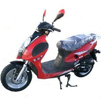 49cc Striker 4 Stroke Moped