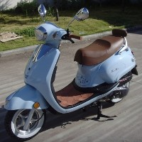 50cc Italia Touring Moped