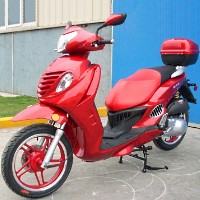 150cc Rock Thunder 4-Stroke Air-Cooled Moped Scooter