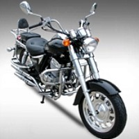 250cc Road Hog Single Cylinder 4 Stroke Motorcycle