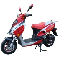50cc Single Cylinder 2 Stroke Moped