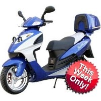 150cc MC_D150B 4-Stroke Air-Cooled Moped