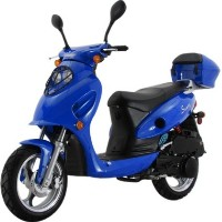 150cc MC_D150E 4-Stroke Air-Cooled Moped