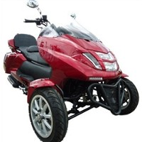 MC_D300TKB 4 Stroke 300cc Trike Scooter Moped