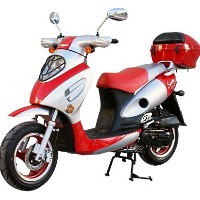 50cc MC_JL4A 4-Stroke Air-Cooled Moped