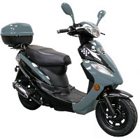 50cc Europa Deluxe Moped Scooter