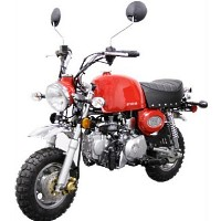 124cc Mini Street Legal Motor Bike