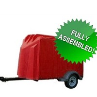 4' x 7' Yuppie Wagon Enclosed Cargo Utility Trailer