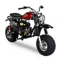 200cc 6.5 HP Outlaw Four Stroke Mini Bike