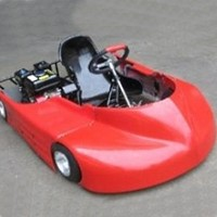 red racer go kart