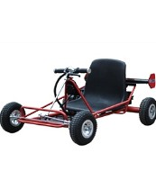 24 Volt Solar Electric Go Kart
