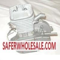 80cc Silver Motorized Gas Bike Needle Bearing Engine