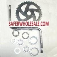 Gas Bike Engine - Wider Crank