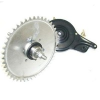 Gas Bike Engine - 44T Axle w Drum Brake