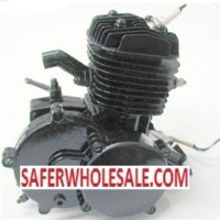 Complete Silver 80cc Motor Bicycle Engine Kit