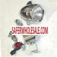 Gas Bike Engine - Chrome Head Light