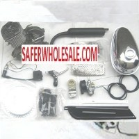 Complete 80cc Motor Bicycle Engine Kit with Chrome Tank