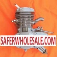 Complete 80cc Motor Bicycle Engine Kit Slant Silver X80