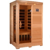 Elite Coronado 2 - 3 Person Infrared Sauna with Carbon Heaters