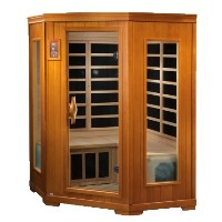 3 Person 1900 Watt Color Therapy - Carbon Tech Infrared Sauna