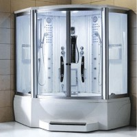"""Brand New Jetted Tub and Steam Shower 63"""" x 63"""" x 89"""""""