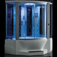 """Brand New Jetted Tub and Steam Shower 66"""" x 66"""" x 90"""""""