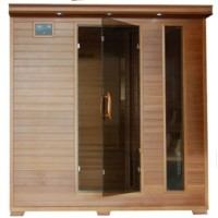 Great Bear 6 Person Infrared Sauna with Carbon Heaters - Corner Unit