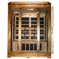 3 - 4  Person FIR Infrared Carbon Fiber Sauna - With Red Cedar