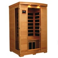 Coronado 2 - 3 Person Infrared Sauna with Carbon Heaters