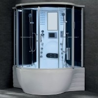 Zen Brand New 2012 Jetted Hot Tub Computerized Massage Shower Spa w/ TV + Mp3 + Radio