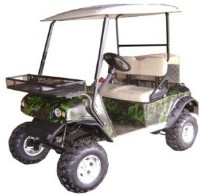 Electric Golf Utility Cart w/ Rear Bed