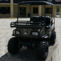 High Quality Camouflauge 48 Volt Electric UTV