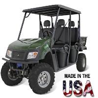 LandMaster 650cc/48V 4WD Hybrid Utility Vehicle UTV w/ 4 Seats