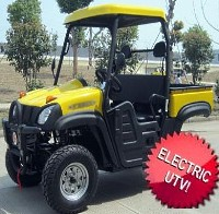 Electric Appalachian UTV Utility Vehicle