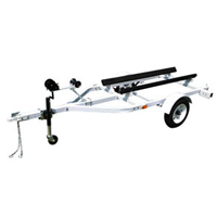 "108"" x 42"" Single 2 Seater PWC Jet Ski Wave Runner Boat Marine Trailer w/ 900 lbs Capacity"